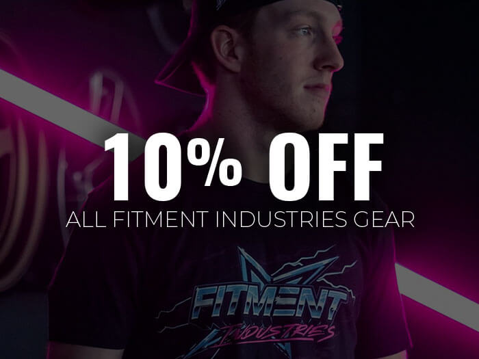 10% Off Fitment Industries Apparel