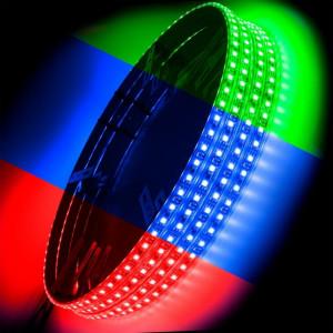 ORACLE LED Illuminated Wheel Rings - ColorShift (RGB)