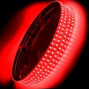 ORACLE LED Illuminated Wheel Rings - Red (Single/Double)
