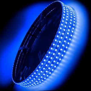 ORACLE LED Illuminated Wheel Rings - Blue (Single/Double)