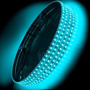 ORACLE LED Illuminated Wheel Rings - Aqua (Single)