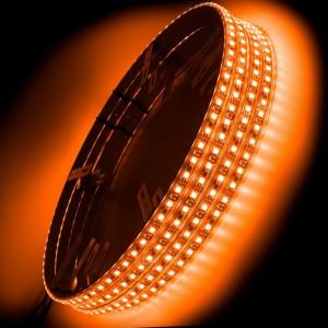 ORACLE LED Illuminated Wheel Rings - Amber (Single/Double)