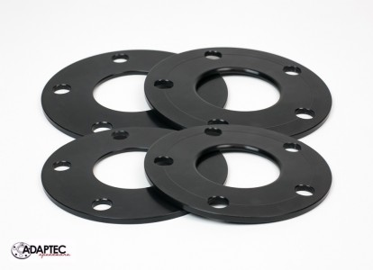 Aluminum 5mm Wheel Spacer (Set 4) 4, 5, or 6 Lug All makes and models