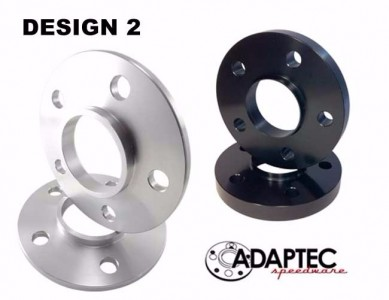 12.5mm Adaptec Wheel Spacer (Pair-2) 4, 5, or 6 Lug All makes and models