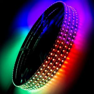 ORACLE LED Illuminated Wheel Rings - ColorSHIFT Dynamic