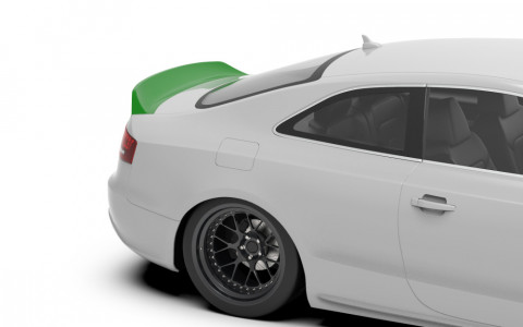 Clinched Audi A5/S5 (8T3 2007-2016) Ducktail Trunk Spoiler