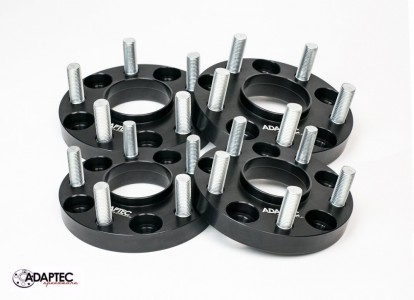 "Aluminum 1.25"" BORA (set 4) Adapters 5x115 to 5x127"