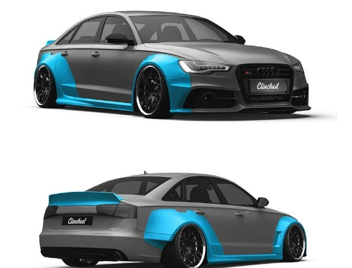Clinched Audi A6 (C7) Widebody Kit w/o Ducktail