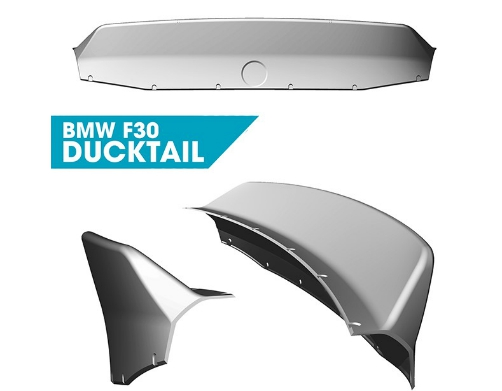 Clinched BMW 3-Series F30 Ducktail Spoiler
