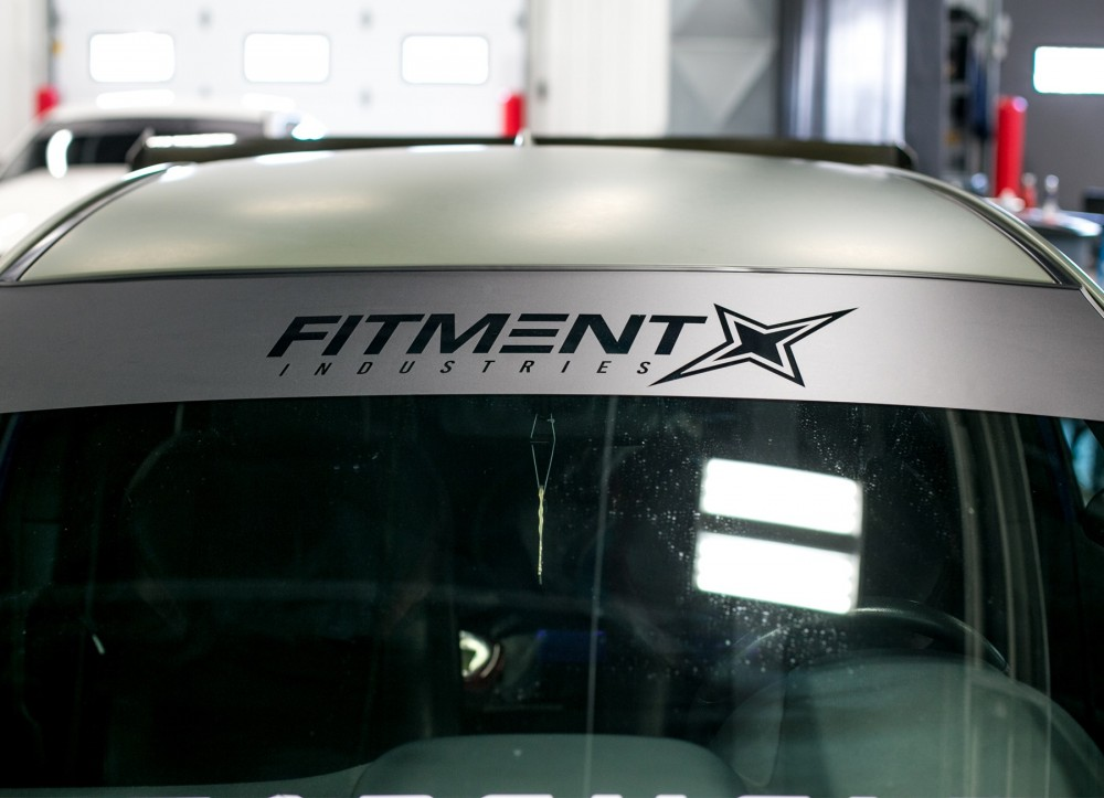 Fitment Industries Windshield Banner