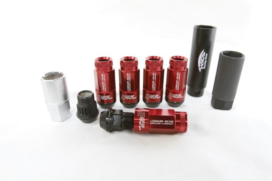 Project Kics Leggdura Racing Shell Type Lug Nut 53 mm with Locks