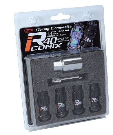 Project Kics R40 Iconix Lug Nut Locks