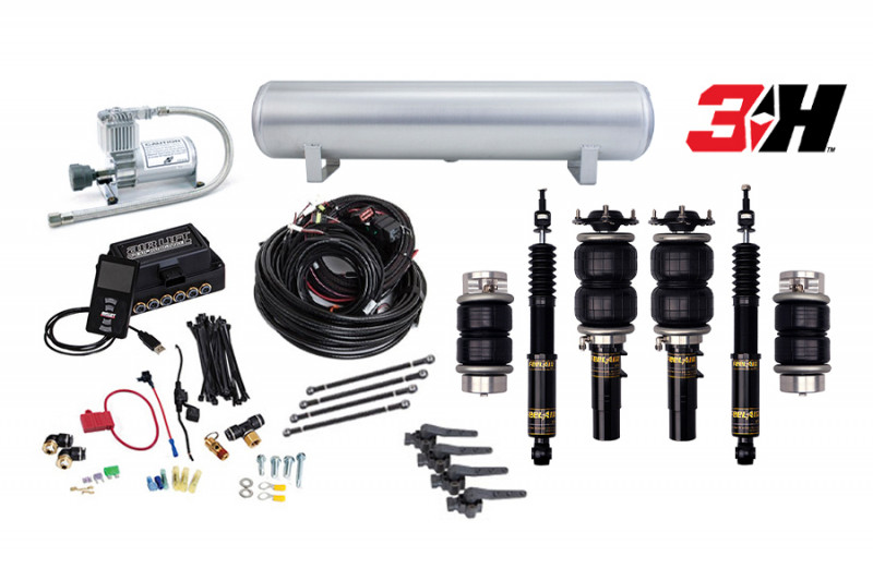 Air Suspension Kits Air Lift Performance 3H Kit with Function and Form FeelAir Struts