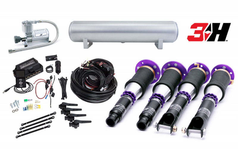 Air Suspension Kits Air Lift Performance 3H Kit with D2 Racing Struts