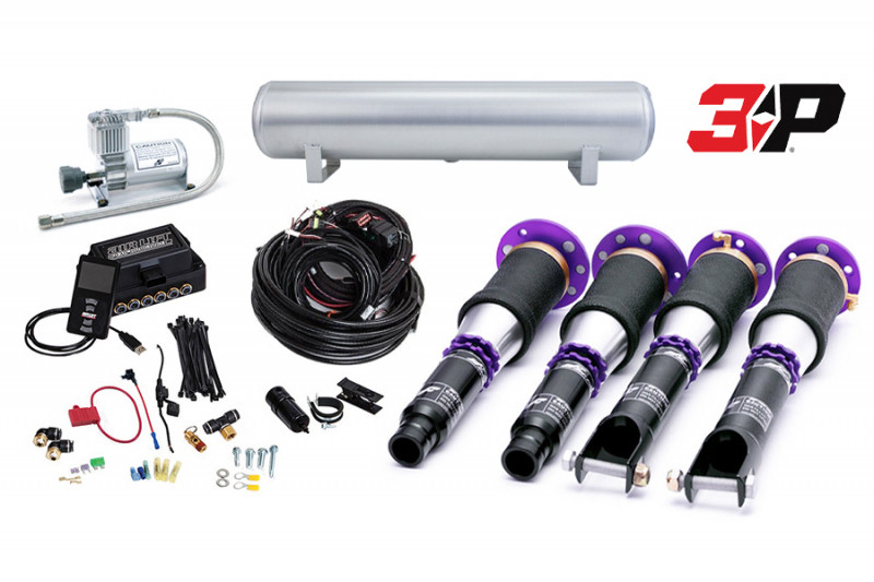 Air Suspension Kits Air Lift Performance 3P Kit with D2 Racing Struts