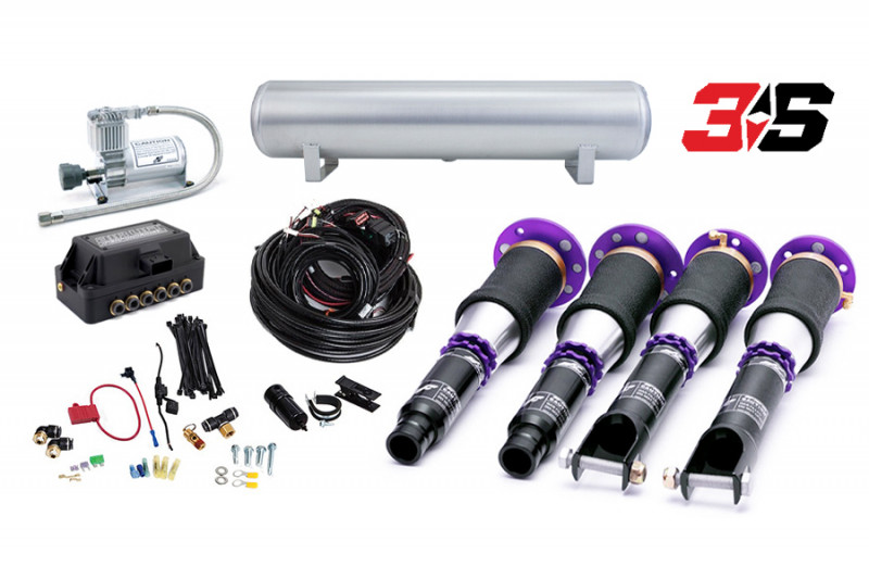 Air Suspension Kits Air Lift Performance 3S Kit with D2 Racing Struts