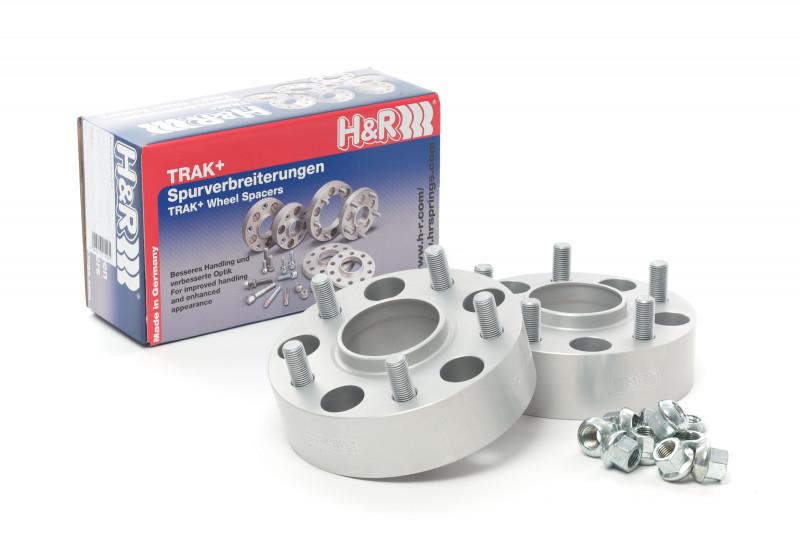 Pair of Aluminum 43mm H&R Spacers