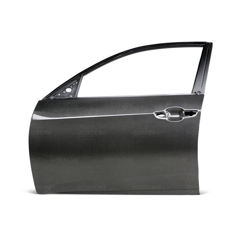 Seibon Carbon Fiber Front Doors | 17-20 Honda Civic (4DR & 5DR Hatchback)