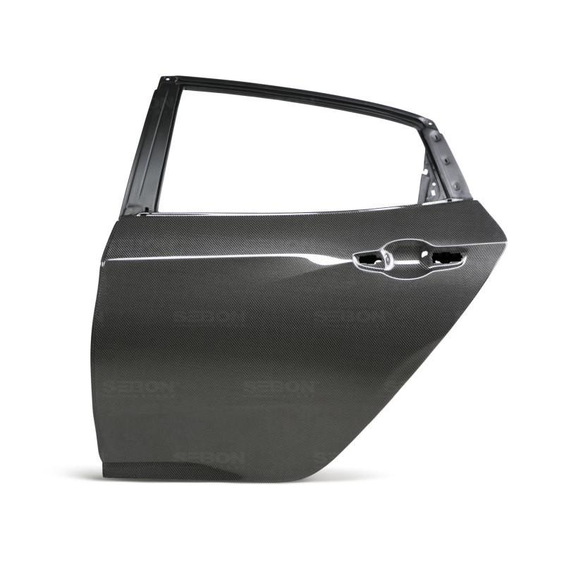Seibon Carbon Fiber Rear Doors | 17-20 Honda Civic (4DR & 5DR Hatchback)
