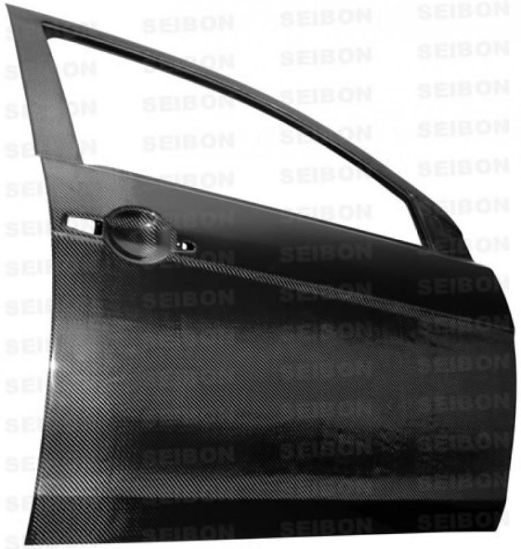 Seibon Carbon Fiber Front Doors | 08-17 Mitsubishi Lancer / EVO X (4DR)