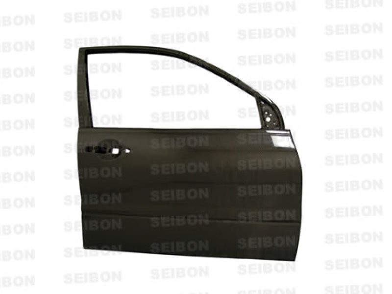 Seibon Carbon Fiber Front Doors | 03-07 Mitsubishi Lancer / EVO (4DR)