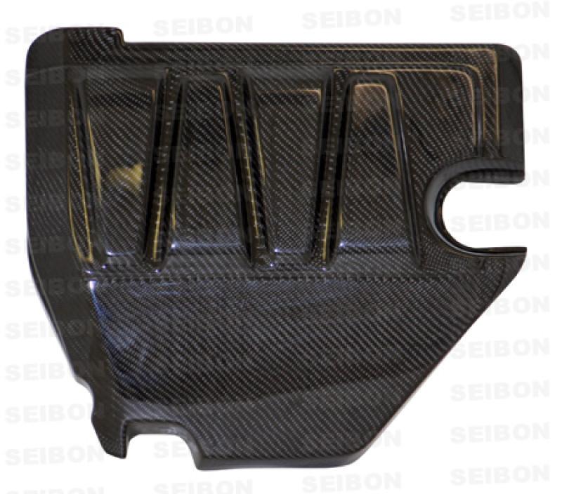 Seibon Carbon Fiber Engine Cover | 08-15 Mitsubishi Lancer EVO X (4DR)