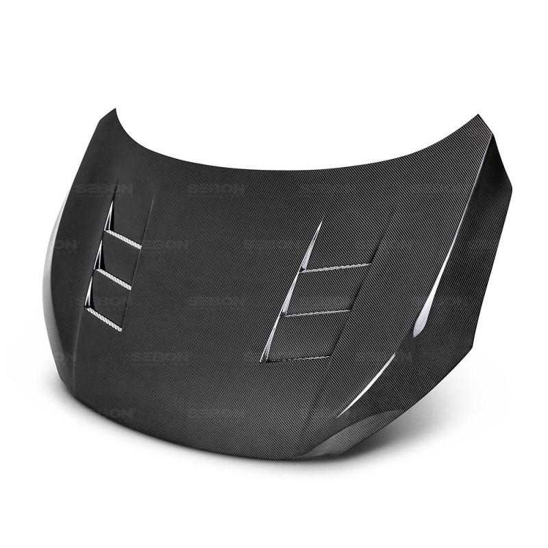 Seibon Carbon Fiber Hood | 16-20 Honda Civic (2DR/4DR Sedan, 4&5DR Hatchback)