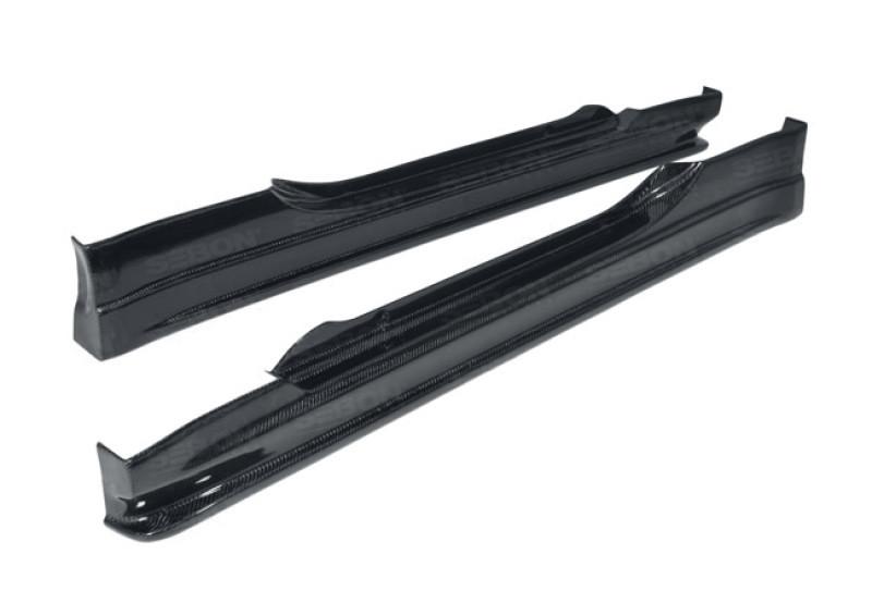 Seibon Carbon Fiber Side Skirts   02-08 Nissan 350Z (2DR,3DR)