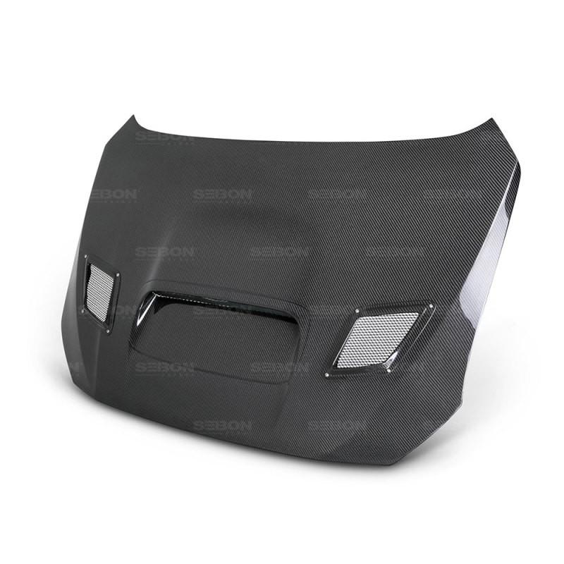 Seibon Carbon Fiber Hood   15-20 Subaru WRX/STI (4DR)