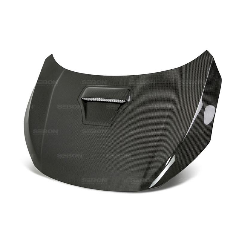 Seibon Carbon Fiber Hood | 16-20 Honda Civic (2DR, 4DR, 4&5DR Hatchback)