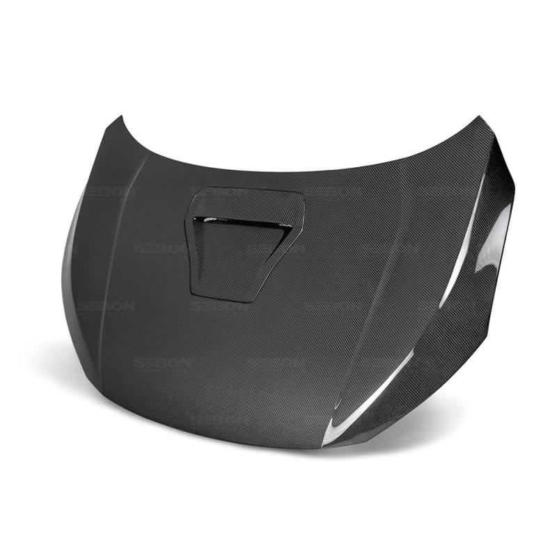 Seibon Carbon Fiber Hood   17-20 Honda Civic (4DR,5DR)