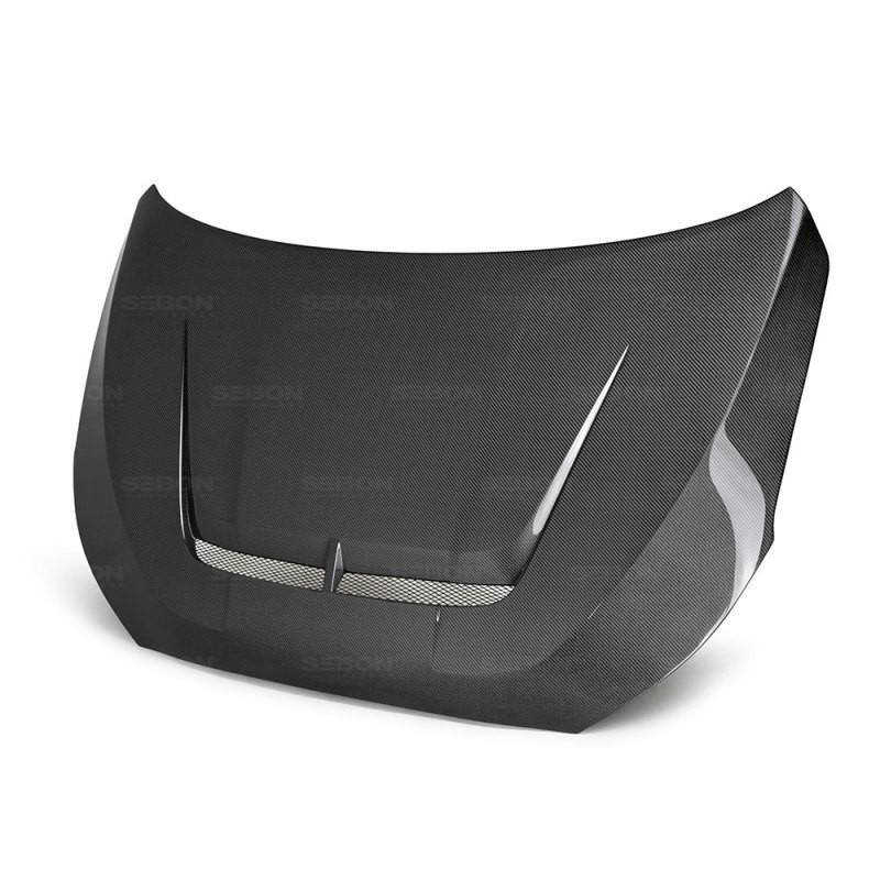 Seibon Carbon Fiber Hood   19-20 Hyundai Veloster / Veloster N (3DR,4DR)