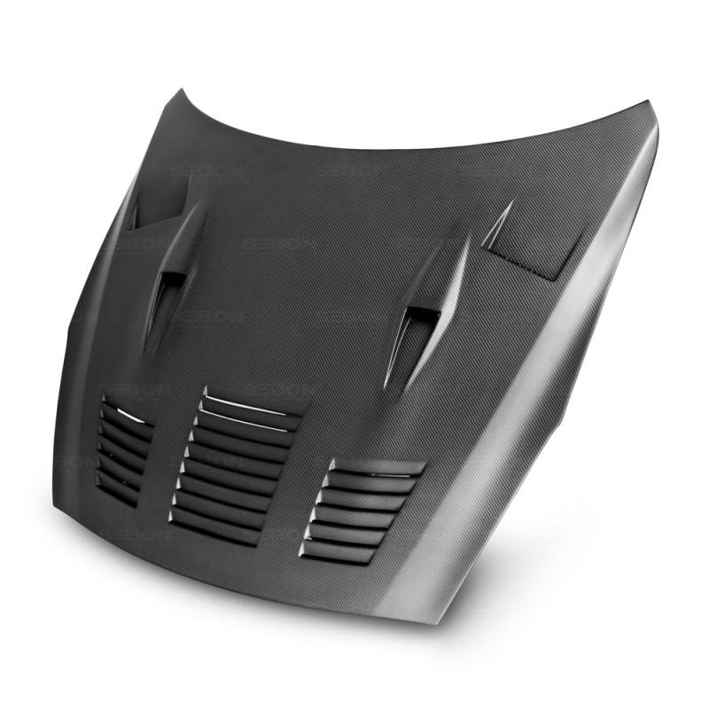 Seibon Dry Carbon Hood | 09-16 Nissan GT-R (2DR)
