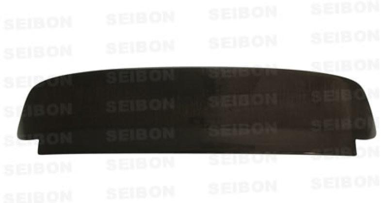 Seibon Carbon Fiber Rear Spoiler W/ LED | 92-95 Honda Civic HB (3DR)