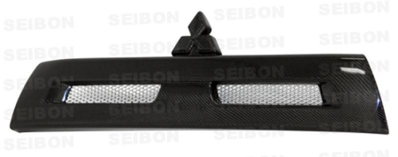Seibon Carbon Fiber Front Grille   08-15 Mitsubishi Lancer Evo X (4DR)