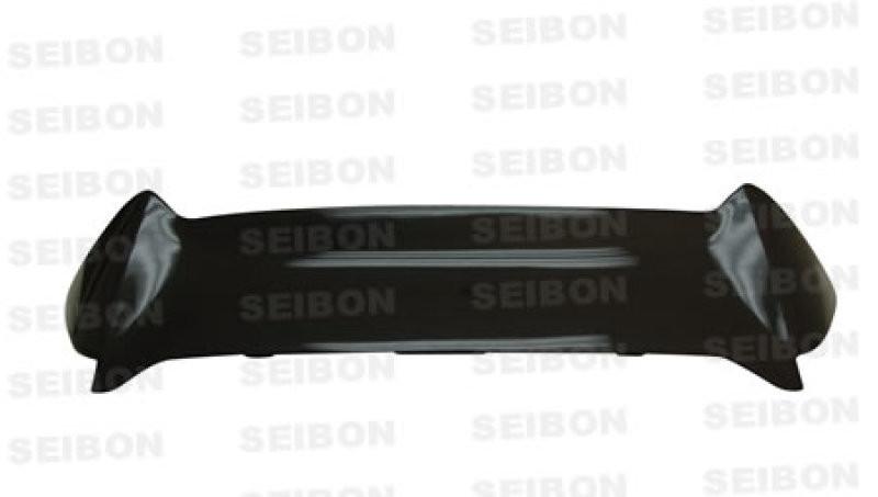Seibon Carbon Fiber Rear Spoiler   02-05 Honda Civic SI (3DR Hatchback)