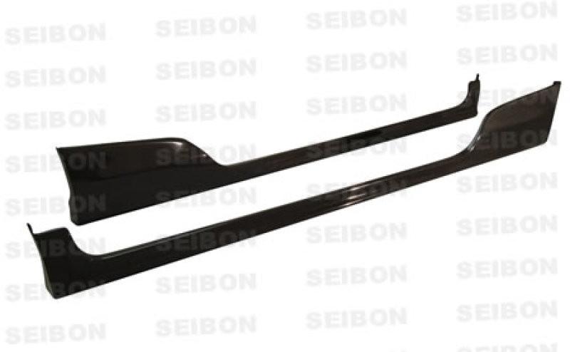 Seibon Carbon Fiber Side Skirts | 02-04 Honda Civic HB SI (3DR)