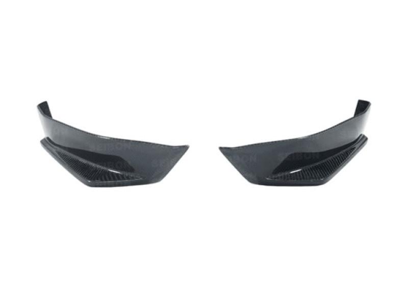 Seibon Carbon Fiber Rear Lip   13-16 Scion FRS / 13-20 Subaru BRZ (2DR)