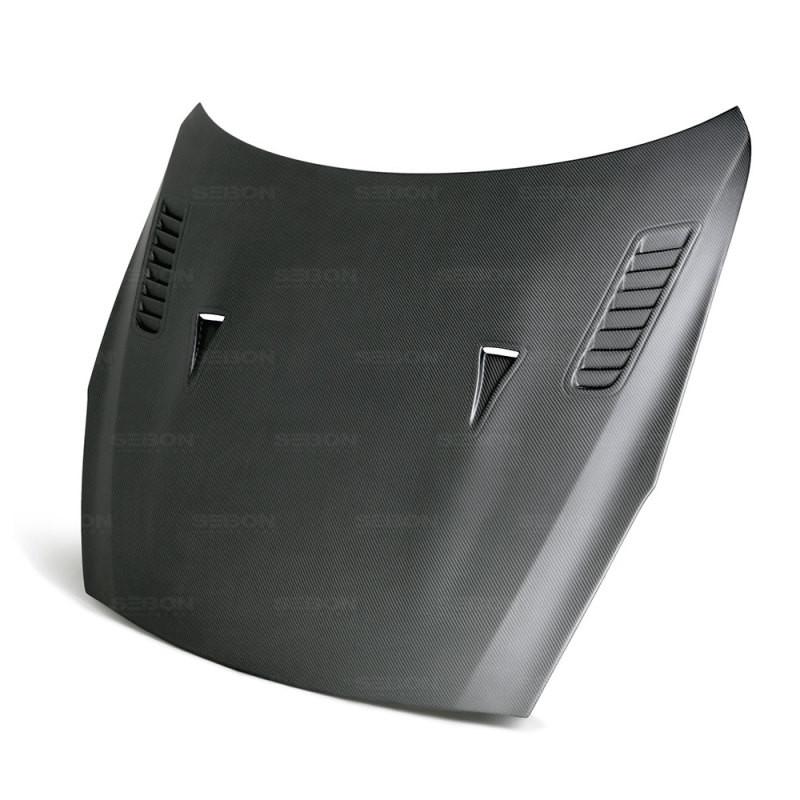 Seibon Dry Carbon Hood 09-16 Nissan GT-R Coupe