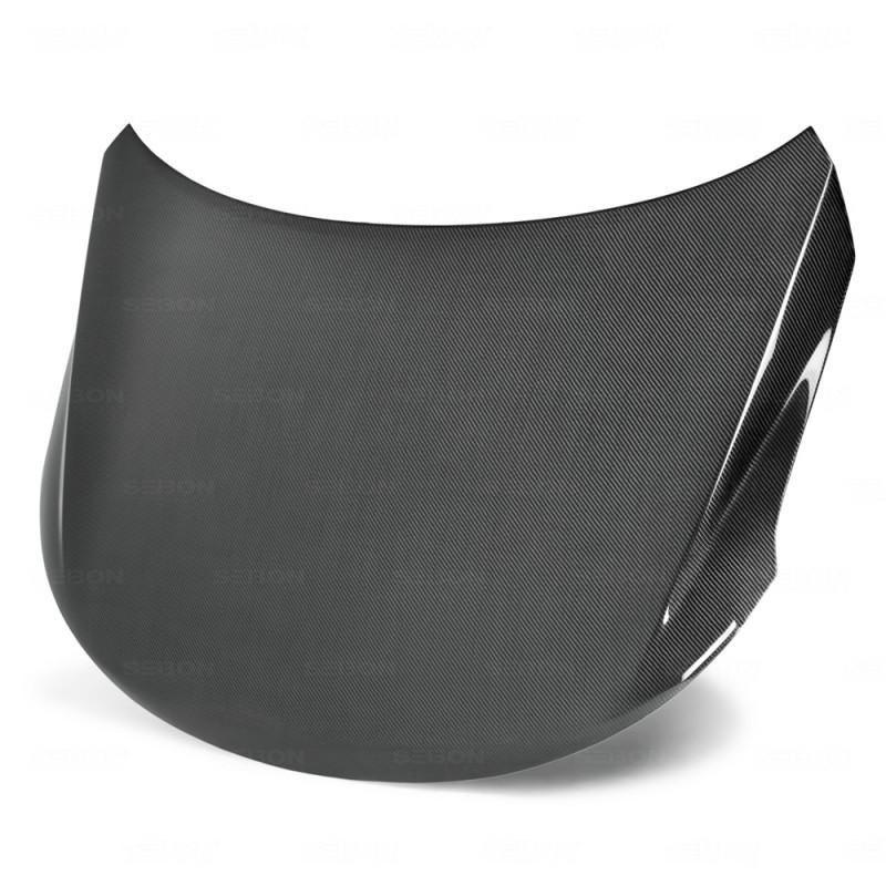 Seibon Carbon Fiber Hood 09-13 Kia Forte 2DR/4DR