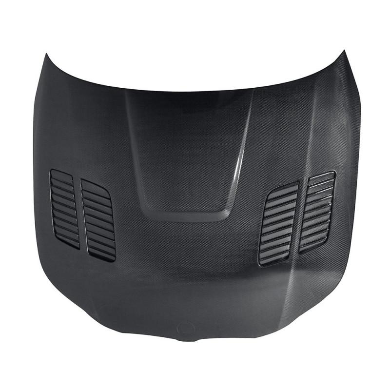 Seibon Carbon Fiber Hood 04-10 BMW E60 5 Series/M5 Sedan