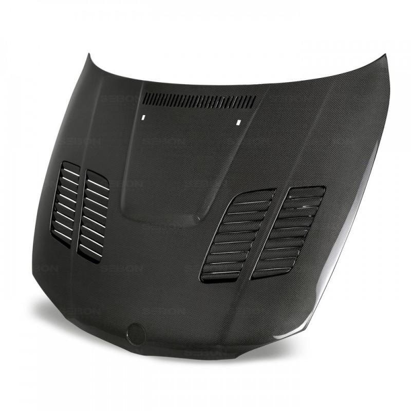 Seibon Carbon Fiber Hood 08-13 BMW E82 1 Series/1M Coupe