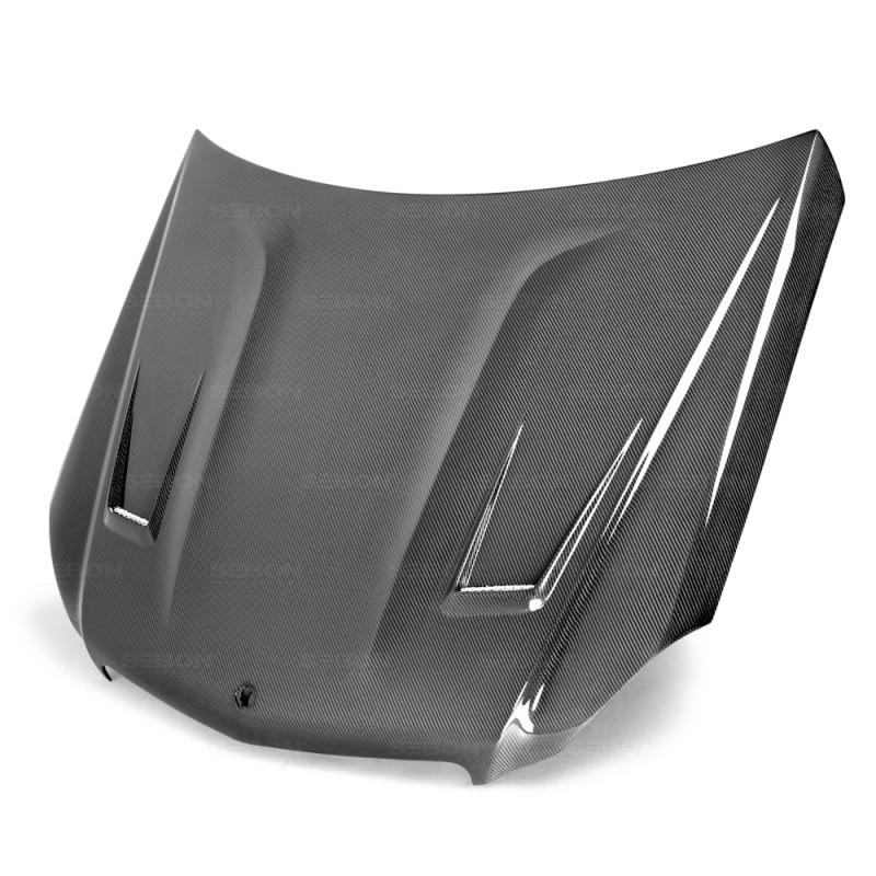 Seibon Carbon Fiber Hood|12-14 Mercedes C-Class|2DR/4DR