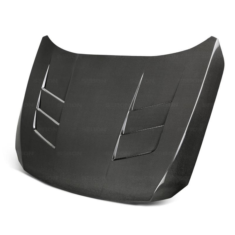 Seibon Carbon Fiber Hood 18-20 Honda Accord Sedan