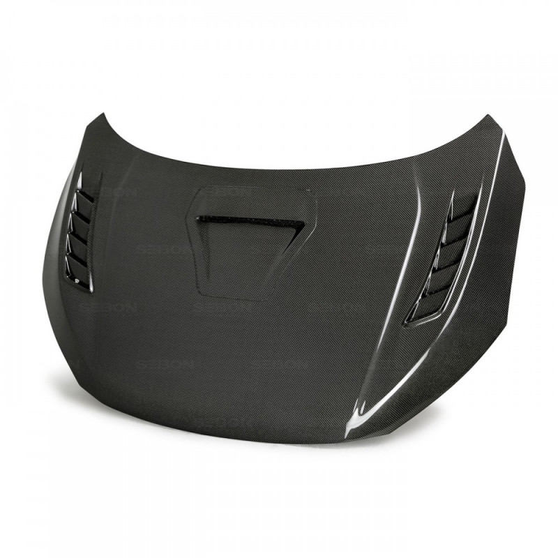 Seibon Carbon Fiber Hood 17-20 Honda Civic Type R Hatchback