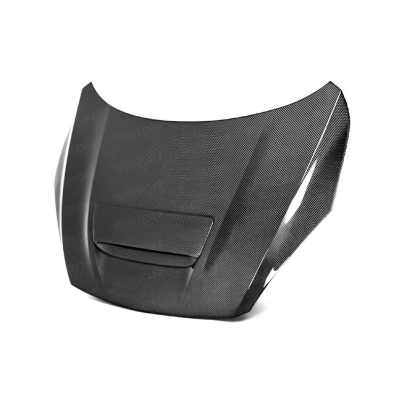 Seibon Carbon Fiber Hood|10-13 Mazda Speed 3|Hatchback