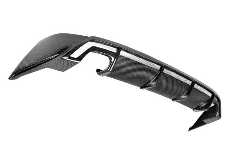 Seibon Carbon Fiber Rear Lip|14-16 Lexus IS|Sedan