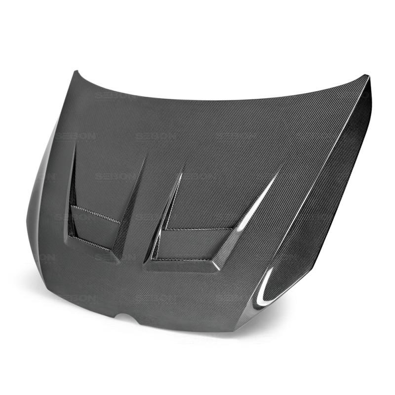 Seibon Carbon Fiber Hood 15-20 Volkswagen Golf/GTI/R Hatchback