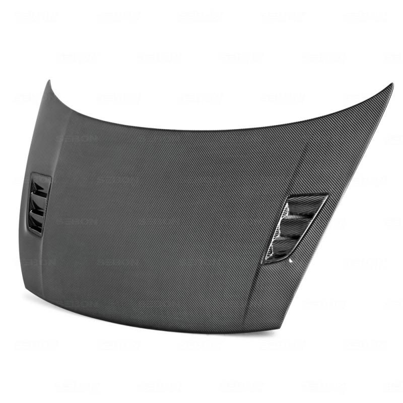 Seibon Carbon Fiber Hood 06-10 Honda Civic Sedan