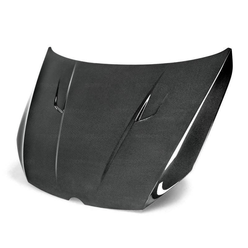 Seibon Carbon Fiber Hood|15-20 Volkswagen Golf/GTI/R|Hatchback